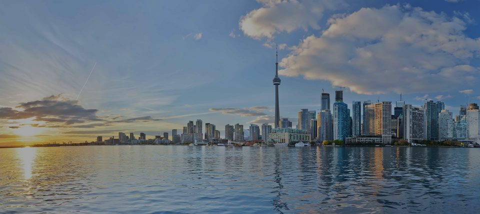 Toronto, the luxury real estate area in Canada